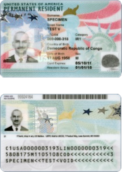 GREEN CARDS FOR SALE
